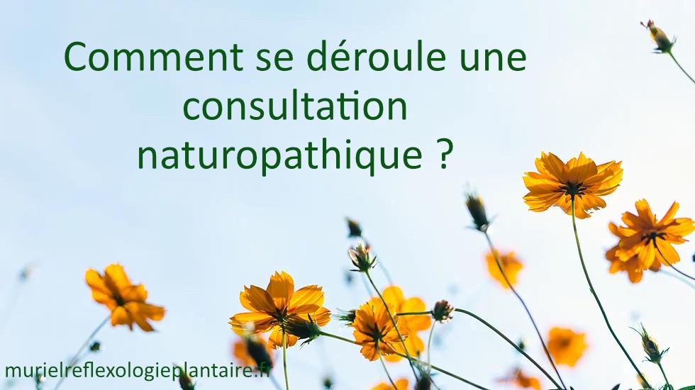 Comment se déroule une consultation naturopathique ?